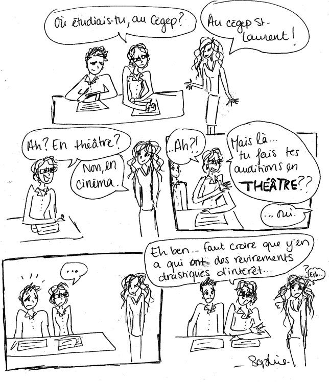 cégep theatre